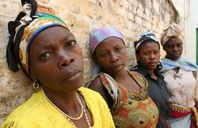 Raped women in africa