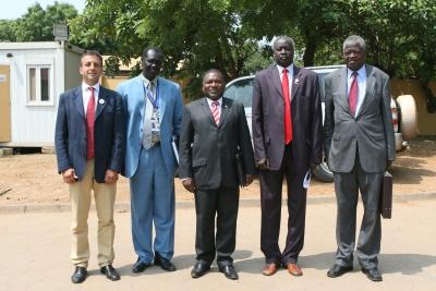 Delegazione Mozambico in Sud Sudan